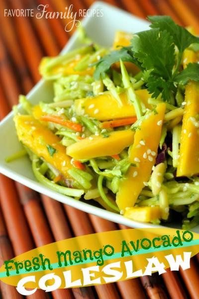 Fresh-Mango-Avocado-Coleslaw