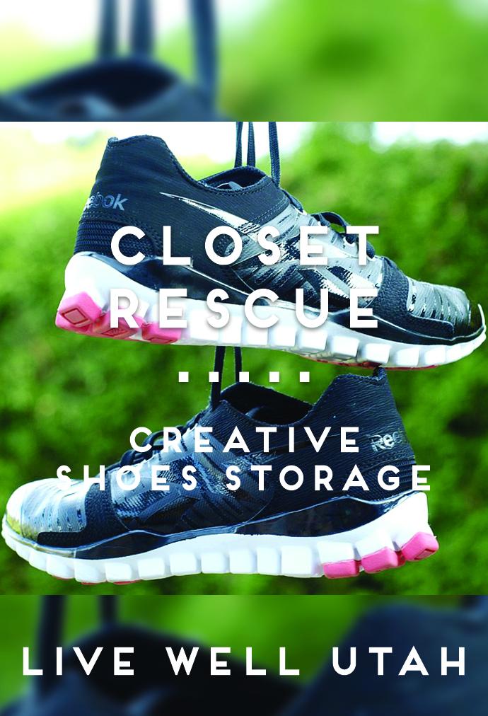 Creative Shoes Storage