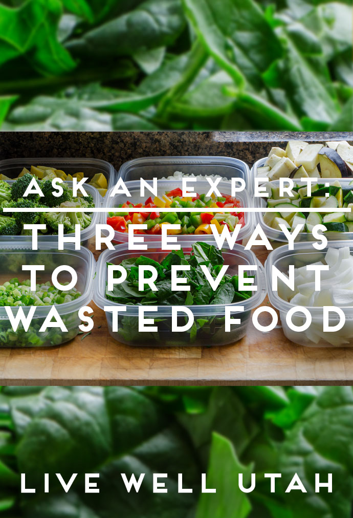Prevent Wasted Food Graphic