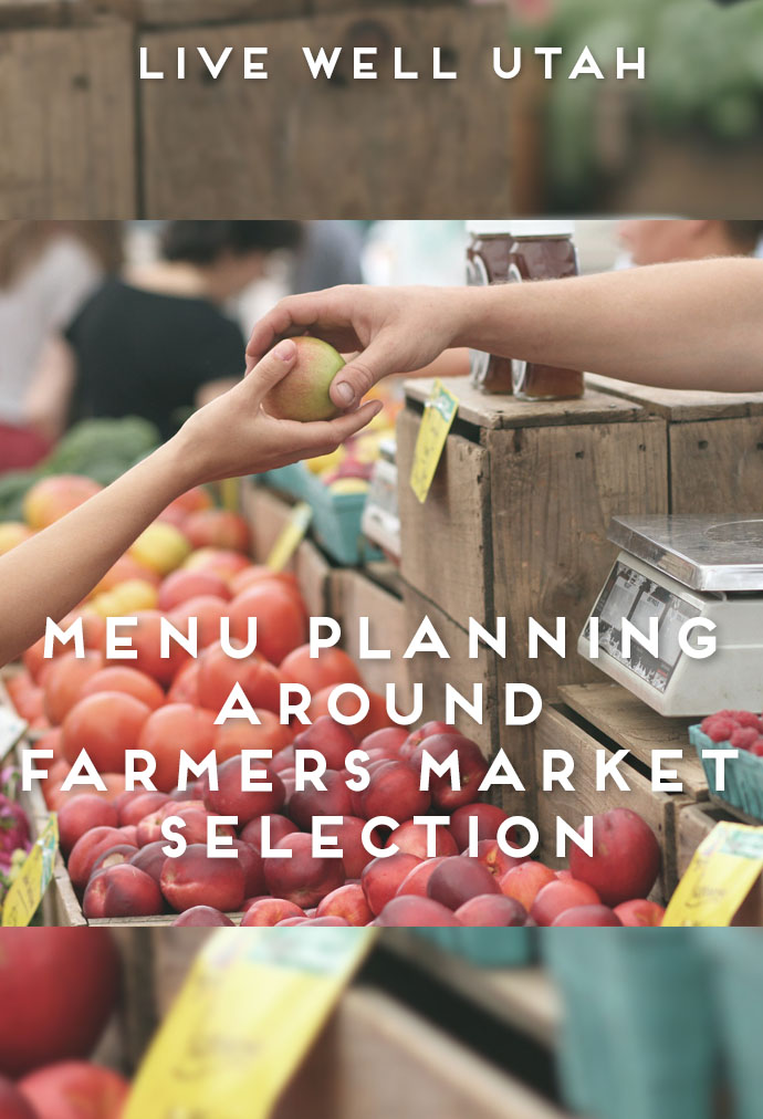Menu Planning Farmers Market
